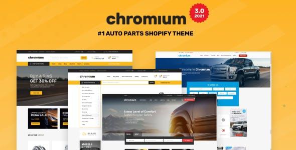 Chromium — Auto Parts Shop Shopify Theme