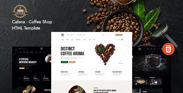 Cafena - Coffee Shop HTML5 Template