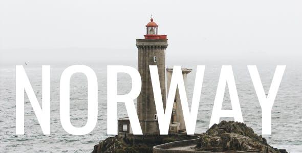 Norway - Minimal Travel Blog WordPress Theme