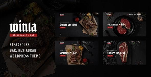 Winta - Steakhouse Restaurant WordPress Theme - Food Retail