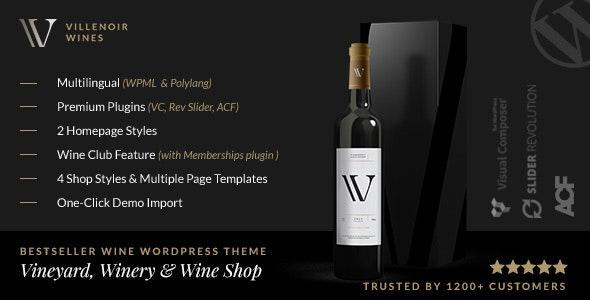 Villenoir v5.5 – Vineyard, Winery & Wine Shop