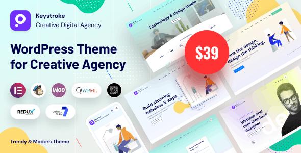 Keystroke - Creative Agency Theme