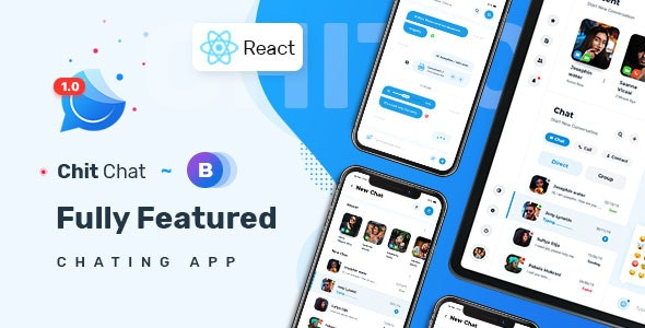 Chitchat - Perfect Chat and Discussion React JS Template - Admin Templates Site Templates