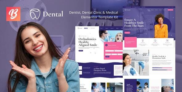 Dental - Dentist Clinic & Medical Elementor Template Kit