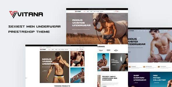 Leo Vitana - Underwear Prestashop Theme