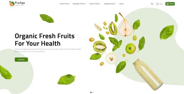 FreshGo - Organic &Supermarket Food Store