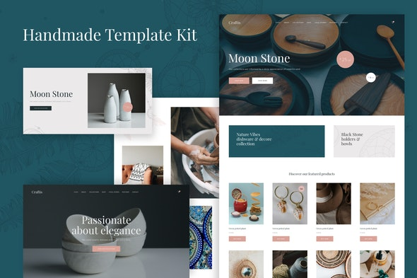 Craftis - Handcraft & Artisan Elementor Template Kit - Shopping & eCommerce Elementor