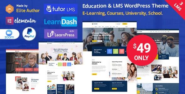 Edubin v8.10.8 – Education LMS WordPress Theme
