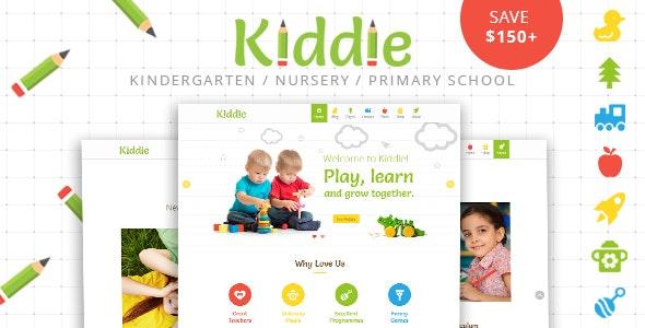 Kiddie - Kindergarten WordPress Theme - Education WordPress