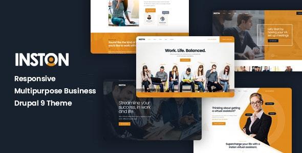 Inston - Responsive Multipurpose Business Drupal 9 Theme - Business Corporate
