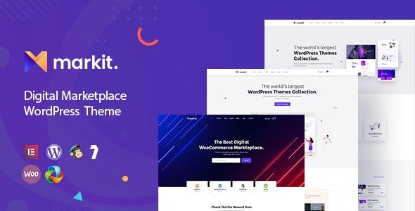 Markite - Digital Marketplace WordPress Theme - WooCommerce eCommerce