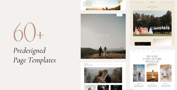 Artale | Wedding Photography Portfolio WordPress