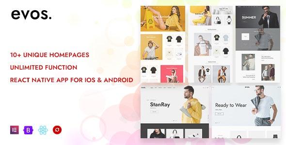 Evos Elementor - Multipurpose eCommerce Prestashop Theme - Fashion PrestaShop