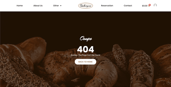 Bakery.co - Bakery Shop Elementor Template Kit
