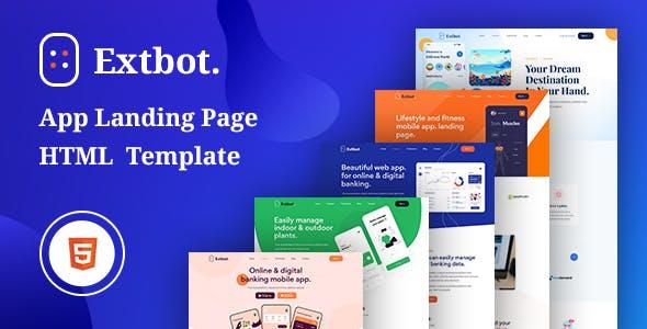 Extbot - App Landing Bootstrap 5 Template