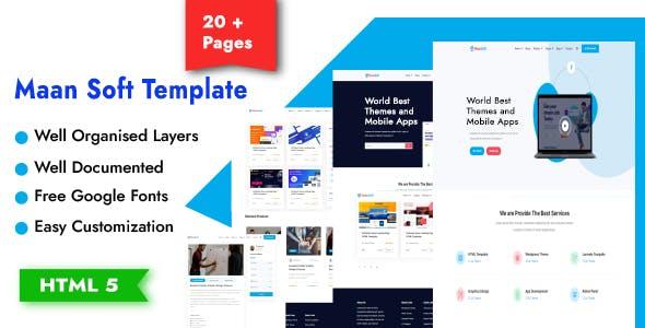 MaanSoft-Digital Marketplace HTML Template