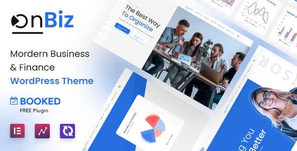 Onbiz - Consulting Business and Finance WordPress - Business Corporate
