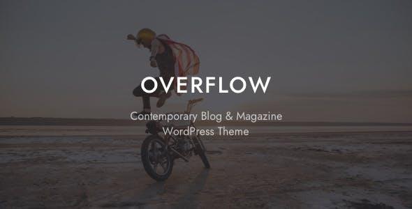 Overflow - Contemporary Blog & Magazine WordPress Theme