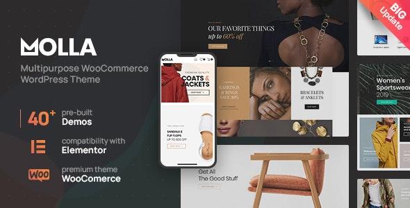 Molla v1.3.2 – Multi-Purpose WooCommerce Theme