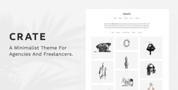 Crate - Minimalist Themeforest WordPress