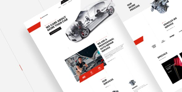 Macchina - Car Repair Auto Mechanic