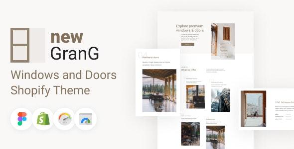 GranG - Windows and Doors Shopify Theme - Shopping Shopify