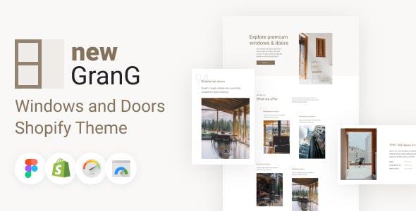GranG - Windows and Doors Shopify Theme