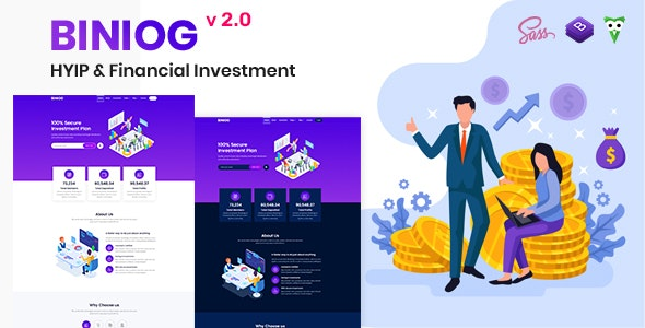 Biniog - HYIP Investment Template - Business Corporate