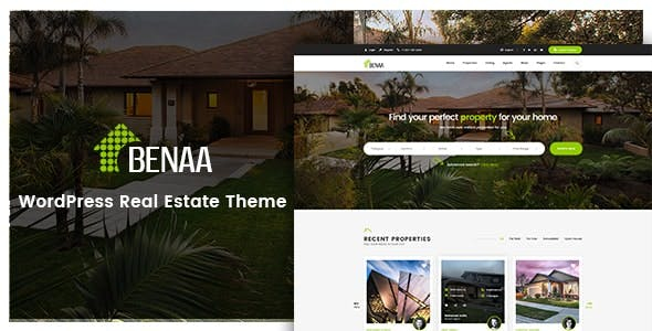 Benaa - Real Estate WordPress Theme