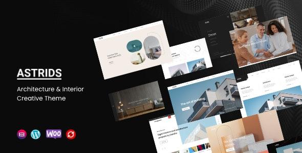 Astrids - Architecture, Interior Creative Theme - Creative WordPress