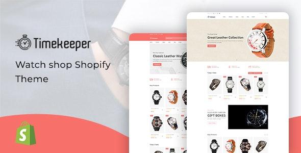 Timekeeper v1.0 – Watch Store Shopify Theme