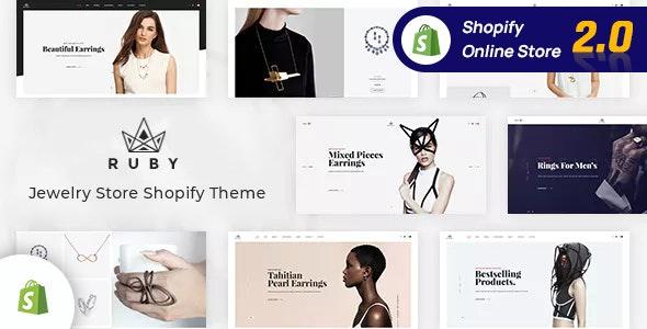 Jewelry Store Shopify Theme - Ruby - Fashion Shopify