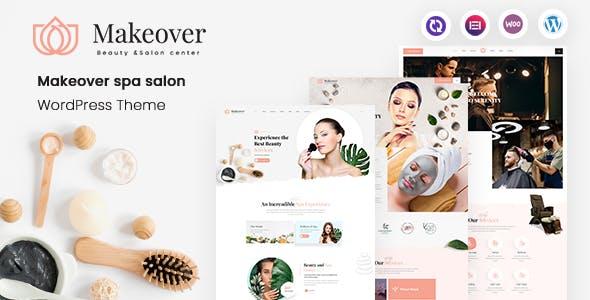 Makeover - Spa Salon WordPress Theme