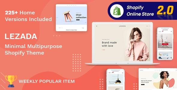 Lezada - Multipurpose Shopify Theme - Fashion Shopify
