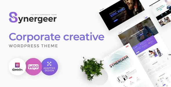 Synergeer - Corporate Creative WordPress Theme - Corporate WordPress