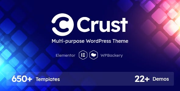 Crust - Multipurpose WordPress Theme