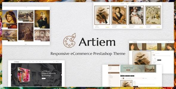 Artiem - Responsive PrestaShop Theme - Shopping PrestaShop