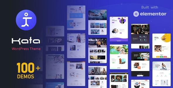 Kata - Elementor WordPress Theme - Corporate WordPress