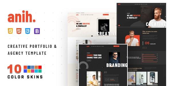 Anih - Creative Agency & Portfolio - Portfolio Creative