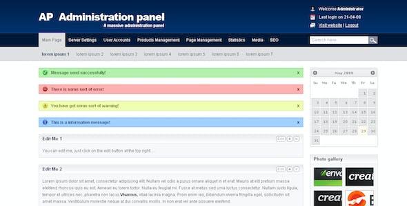AP Administration Panel