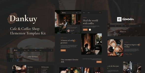 Dankuy - Cafe & Coffee Shop Elementor Template Kit