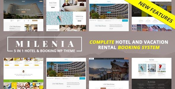 Milenia - Hotel & Booking WordPress Theme