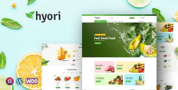 Hyori - Organic Food WooCommerce Theme - WooCommerce eCommerce