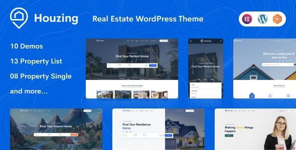 Houzing – Real Estate WordPress Theme - Real Estate WordPress