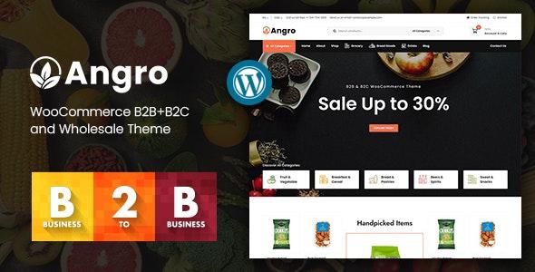 Angro - WooCommerce B2B & Wholesale Theme - WooCommerce eCommerce