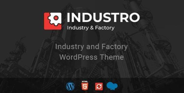 Industro - Industry & Factory WordPress Theme - Business Corporate