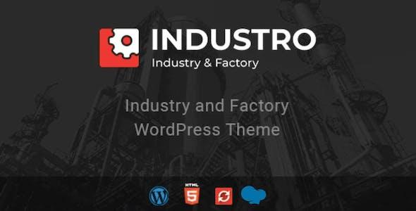 Industro - Industry & Factory WordPress Theme