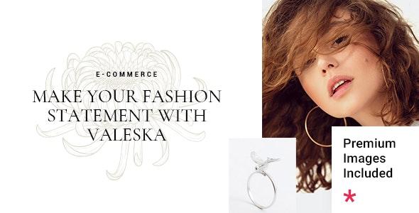Valeska - Fashion eCommerce Theme - WooCommerce eCommerce