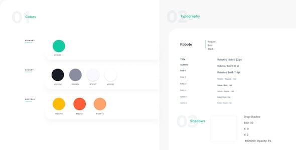 Grub – Grocery Shop Adobe XD Template