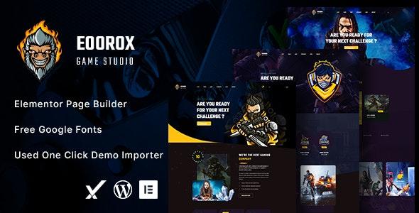 Eoorox - Gaming and eSports WordPress Theme - Entertainment WordPress